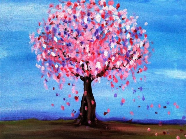 45+ Easy Flower Painting Ideas For Beginners - Buzz Hippy