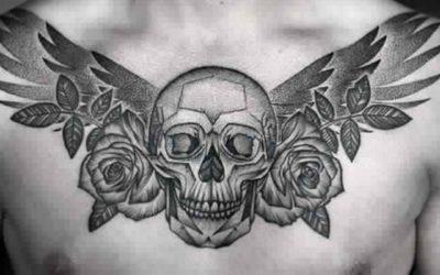 Stylish Sugar Skull Tattoo Designs