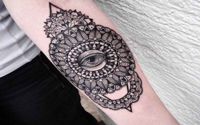 Best Mandala Forearm Tattoo Designs