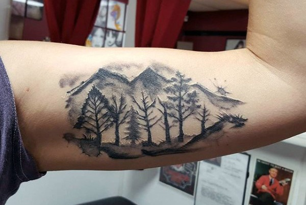 50 Best Mountain Range Tattoo Designs And Ideas For Men