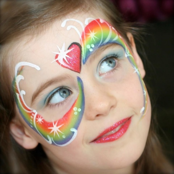 Cute And Easy Face Painting Ideas For Cheeks