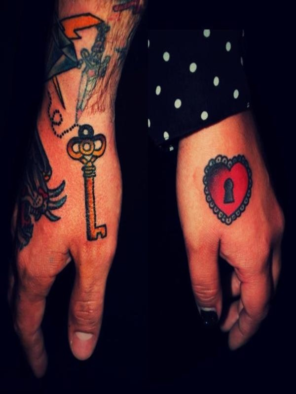 Cool Lock And Key Tattoo Designs And Ideas