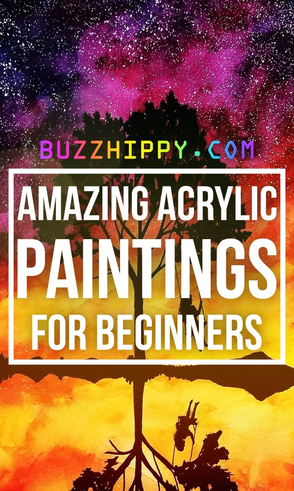 Amazing Acrylic Paintings For Beginners