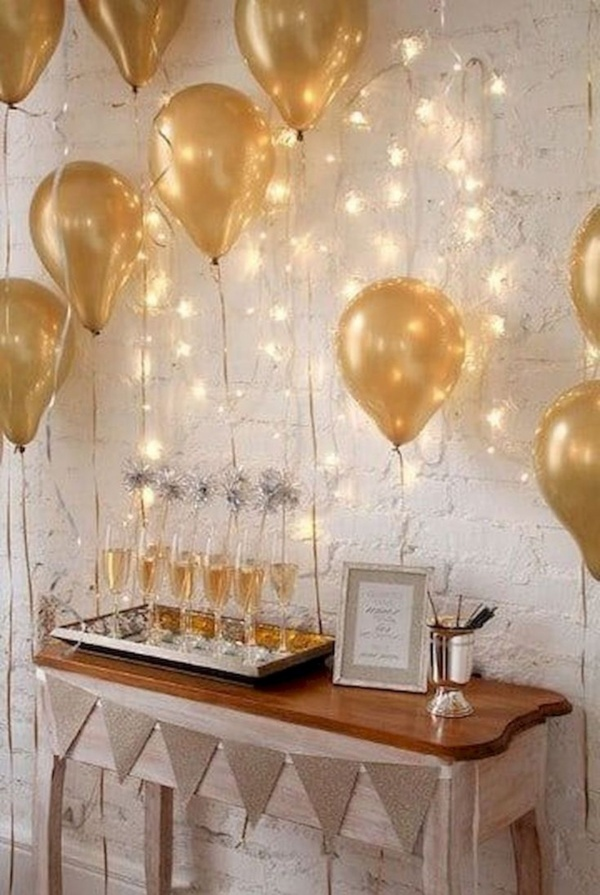 Beautiful New Year's Eve Home Decorating Ideas