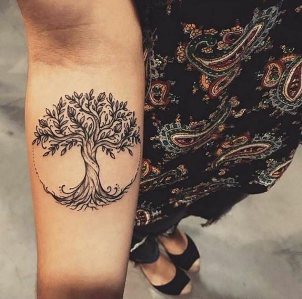 Beautiful Bodhi Tree Tattoo Designs And Ideas