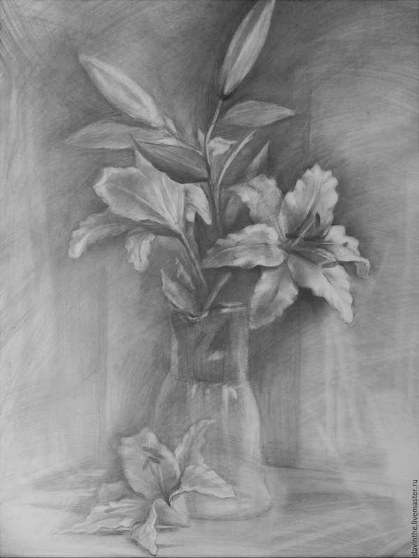 Easy Flower Pencil Drawings For Inspiration